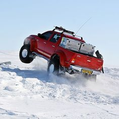 Arctic Hilux North Pole Quest [PIC] #4x4 @arbil4x4