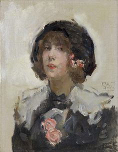 Israels, Isaac -- Portret van een vrouw, 1900-1922. Рейксмузеум: часть 3