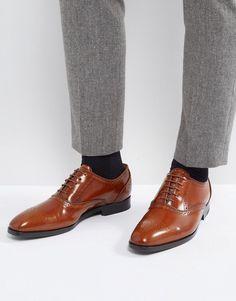 Pebble Brogue Boots In Brown - Brown Dune London fb8cN7Bz