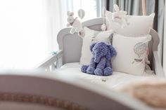 Custom nursery for baby Alonso designed by Baby Belle