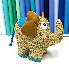 Phoebe Stuffe Toy Kit on Sew Hot