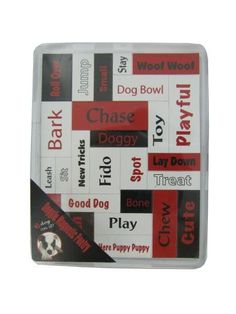 Dog magnetic words (Available in a pack of 24)