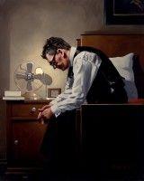 Jack Vettriano  The Weight  Self Portrait
