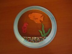 Aquarium Door Dec to go with the finding nemo board