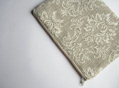 Damask MacBook 13 sleeve with zipper MacBook Air 13 by CasesLab, $25.00