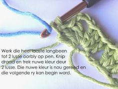Hekel Idees: Hekel Tutoriaal: Granny Ripple Patroon Afrikaans, Button Canvas, Hobbies And Crafts, Free Crochet, Free Pattern, Projects To Try, Crochet Patterns, Knitting, Words