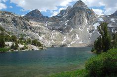 Upper Rae Lake in the High Sierra