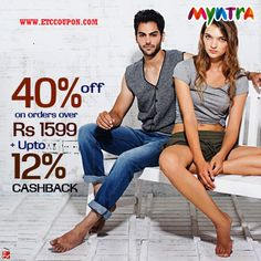 Use this coupon on Myntra and get 55% off.more Info Visit- www.etccoupon.com