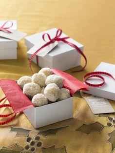 Coconut almond snowballs | Recipes to Love Thermomix ebook