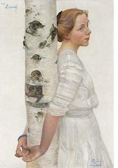 Lisbeth by Carl Larsson (Sweden)