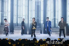 Press photos of Big Bang's comeback stage on Mnet's M Countdown