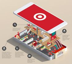 Exploded view of a an app that also doubles as a chart/infographic Best Workout Apps, Isometric Art, Isometric Design, Information Design, Premium Wordpress Themes, App Design, Flat Design, Target, Design Inspiration