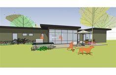 Mid-Century Modern ranch House by designer Daniel Bush