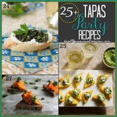 Blog post at Healthy Seasonal Recipes : Here are more than twenty-five inspired recipes for a tapas party. From simple roasted garlic hummus and healthy artichoke dip to cute sesam[..]