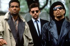 Mario van Peebles, Ice-T, and Judd Nelson from New Jack City