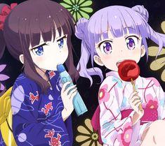 ヒナみん @Hinamin_Megumin  8月8日 夏祭り行くなら ひふみん→RT 青葉ちゃん→いいね 2人(ひふみん&青葉ちゃん)→RTといいね #NEW GAME!
