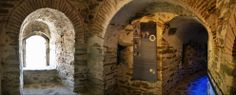 Inside Trigonion Tower that was recently restored in a beautiful and careful way. (Walking Thessaloniki, Route 08 - Seven Towers) Acropolis, Thessaloniki, Towers, The Locals, Restoration, Greek, Walking, City, Beautiful