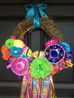 Fiesta on the Rio Grande  medium by Bonnieharmsdesigns on Etsy, $140.00
