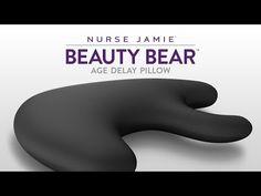 Beauty Bear™ Age Delay Pillow, Midnight Gray | Beauty Tools - Nurse Jamie Healthy Skin Solutions