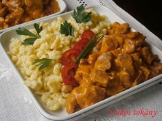 Easy Healthy Recipes, Easy Meals, Ital Food, Hungarian Recipes, Recipe Using, Food For Thought, Entrees, Bacon, Curry