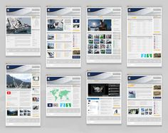Small thumbs an effective way of showing large scrolling pages