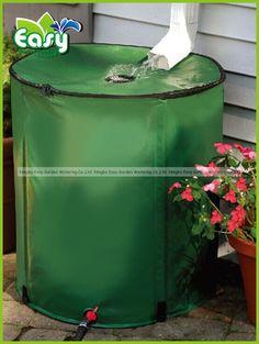 160 L Collapsible rainwater barrel Rain Barrel, Easy Garden, Garden Supplies, Irrigation, Water Garden, Gardening, Stuff To Buy, Things To Sell, Design