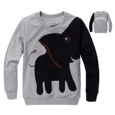 Gratis verzending, nieuwe olifant, kinderen trui, jongen meisje trui hooded sweater met capuchon top shirts in Dank u voor het bezoek aan onze winkel. Gelieve uw 1: volledige naam en adres detail, huisnummer,2: de juist van hoodies en sweatshirts op AliExpress.com   Alibaba Groep