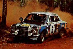 1973 Safari Rally (Preston jr. Vic - Smith Bev) Ford Escort RS 1600 MKI
