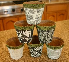 cover peat pots with paper