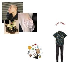 """""""love yourself (ftm oc)"""" by lilwolfy0 ❤ liked on Polyvore featuring Vetements, Billabong, Dr. Martens, Impossible Project, Citron, Hollister Co., Sonix, DK, Zone and men's fashion"""