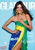 Alessandra Ambrosio for Glamour
