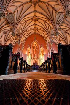 beautiful Gothic vaulted ceiling @KD Eustaquio Randell Harvey Eliason