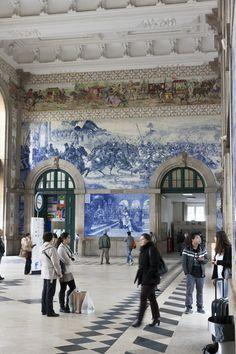 Estación de Sao Bento, Porto  Portugal