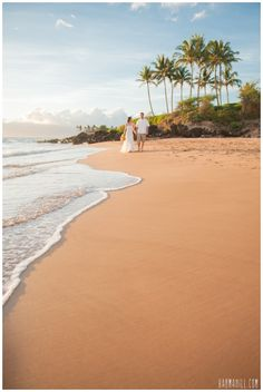 Po'olenalena Beach, Maui Wedding, Simple Maui Wedding