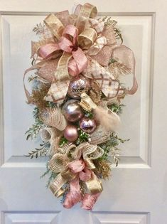 Lot of 12 Dancing Tin Angels Christmas Tree Ornaments - My Cute Christmas Rose Gold Christmas Decorations, Christmas Swags, Silver Christmas, Christmas Door, Christmas Angels, Holiday Wreaths, Christmas Tree Ornaments, Christmas Crafts, Xmas Decorations