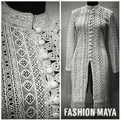 #lacefabric #sherwani #custommade #uniquedesign #at #fashionmaya