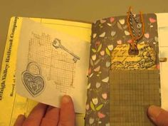 6 tags and a small junk journal for Junk Journal Junkies new member chal...