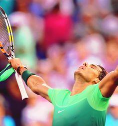 Rafael Nadal | US Open 2015 2R ↳ def. Diego Sebastian Schwartzman 7-6(5), 6-3, 7-5