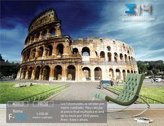 Fotomurales Ciudad Coliseo Romano Monumento Roma (tapiz) (mural) (fotomural) Vinilo 314  Guadalajara Mexico. Decoración de muros y superficies lisas. www.vinilo314.com