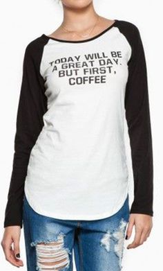 Today will be a great day, but first, #coffee