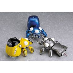 Ghost in the Shell Tachikoma figures. ALL OF THEM. $48-$60.