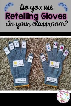 I have been using these Retelling Gloves for years with my Firsties and they LOVE, LOVE, LOVE them!!! It is a great way to help the students hold themselves accountable for their reading in a concrete, hands-on way. My students keep their gloves right in their Reading Workshop folders with their books. Some choose to put their glove on each time they finish reading a book, but some LOVE their Retelling Gloves so much, they put it on first, and then keep it on during the entire reading time!