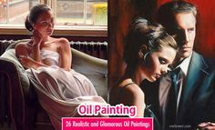 26 Hyper Realistic and Beautiful Oil Paintings by Famous Artist Rob Hefferan. Read full article: http://webneel.com/oil-painting | more http://webneel.com/paintings | Follow us www.pinterest.com/webneel