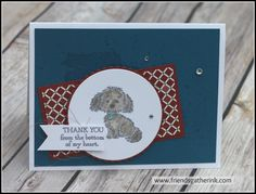 Card made using the Bella and Friends stamp set by Stampin' Up!