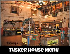 Tusker House Menu at Disney's Animal Kingdom - Breakfast, Lunch, and Dinner