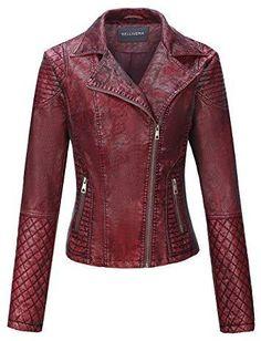 Faux Leather Short Jacket Winter Coats Women, Coats For Women, Jackets For Women, Winter Jackets, Leather Shorts, Faux Leather Jackets, Winter Outfits, Winter Clothes, Moto Jacket