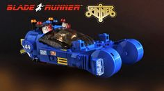 LEGO Blade Runner Spinner.  This is one of the best looking models I have seen.