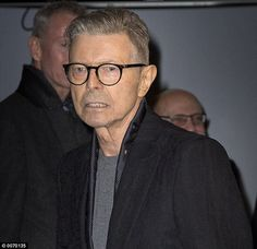 Last picture: Bowie attended the premiere of the musical Lazarus, based on his songs, in New York last month