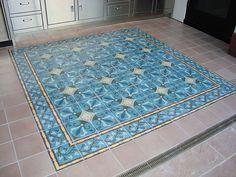 Encaustic Cement Tile Rug