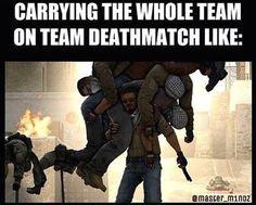 Carrying the whole team be like... #games #globaloffensive #CSGO #counterstrike #hltv #CS #steam #Valve #djswat #CS16